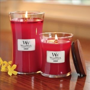 Large 22oz woodwick candle scent current new🌸
